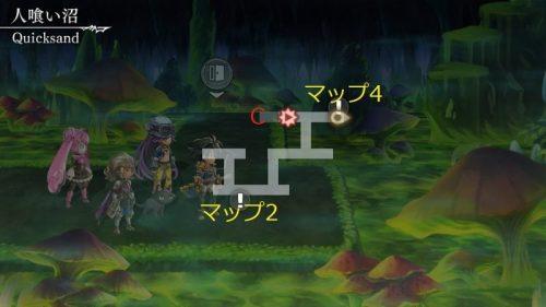 アナデン人喰い沼マップ3