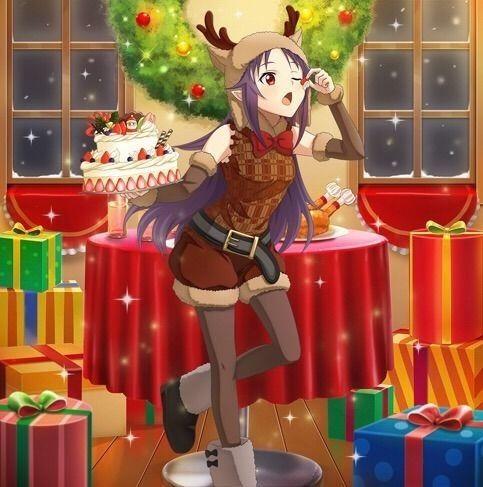 SAOIF 【お茶目な聖誕祭】 ユウキ