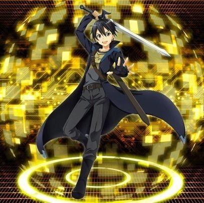 SAOIF 【闇色の剣士】 キリト