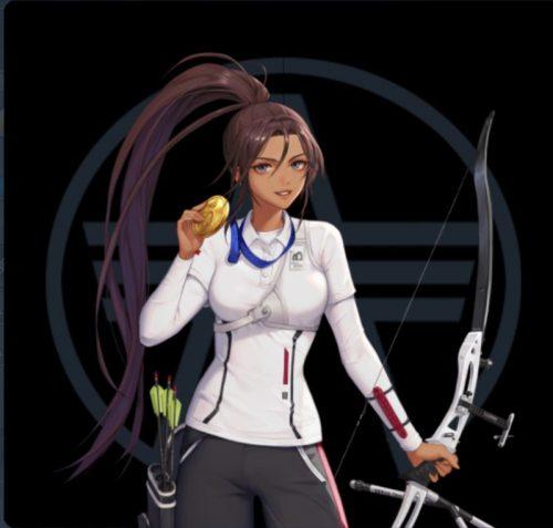 ブラサバ 洋弓選手ナディン