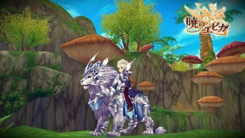 暁のエピカ 白銀の獅子