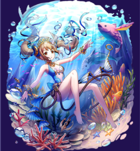 メギド72 ウェパル専用衣装『人魚の夏休み』