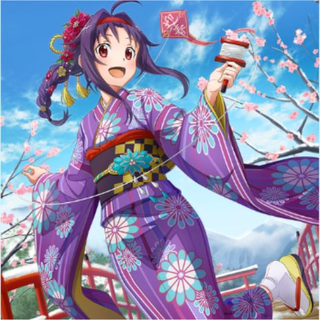 SAOIF 【冬空の風】ユウキ